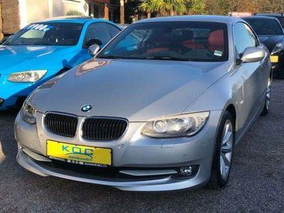 gebraucht BMW 320 Cabriolet i Leder Rot-Navi