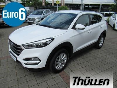 gebraucht Hyundai Tucson Intro Edition 1.6 Turbo 4WD, Navi, Sitzheiz