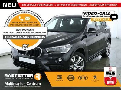 "gebraucht BMW X1 ""xDrive20i Sport Line Aut. Navi LED eHeck SHZ PDC"