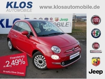 gebraucht Fiat 500 1.2 8V LOUNGE 2,49% 129€ mtl PDC E6D TEMP