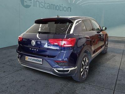 gebraucht VW T-Roc T-Roc1.6 TDI United Navi PDC App-Connect Klima