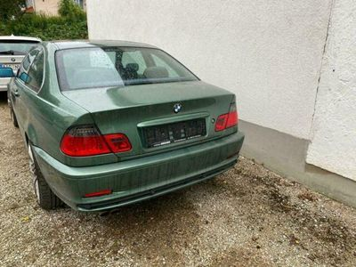gebraucht BMW 323 e46 i Coupe TÜV, Meergrün, Memory usw.