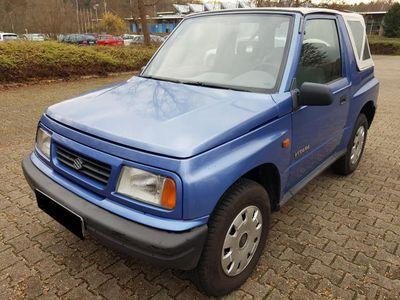 używany Suzuki Vitara 1.6 Blau Met. TüvAsu 12/2020 Servo AHK Allrad..