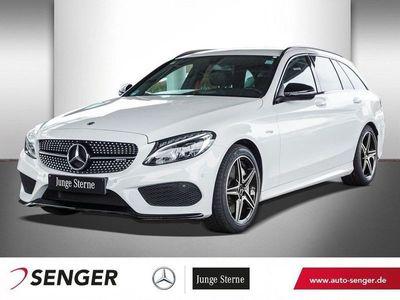 gebraucht Mercedes C43 AMG AMG T AMG 4M+NIGHT-PAKET+KAMERA+NAVI+LED+SHZ
