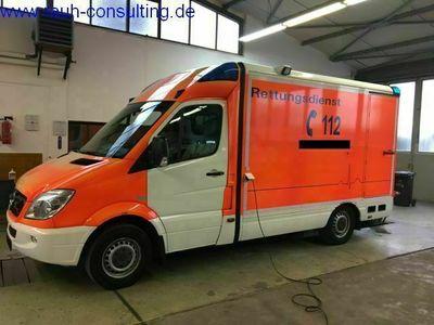 gebraucht Mercedes 316 CDI RTW MZF ATM ATG Lift
