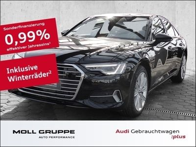 gebraucht Audi A6 45 TDI quattro sport 3.0 EU6d-T PANORAMA AHK NAVI LEDER LED ALU PDC SHZ TEMPOMAT