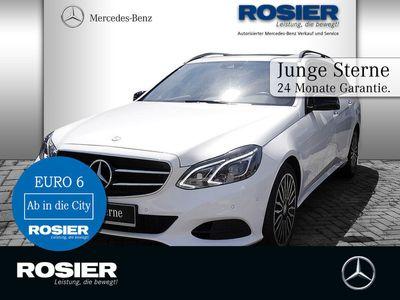 gebraucht Mercedes E220 T 4M Avantgarde Night Com ILS+ SHD Kame