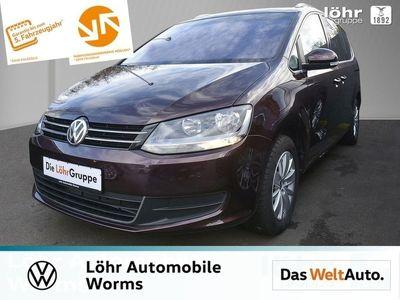 gebraucht VW Sharan 1.4 TSI DSG 7-Sitz App-Con ACC Kindersitz
