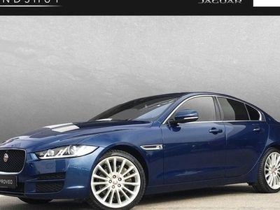 gebraucht Jaguar XE 20d Portfolio AWD/Hea Up/19 Zoll/Licht Paket