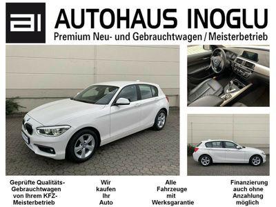 gebraucht BMW 120 i Automatik LED Navi Leder PDCv+h Euro6