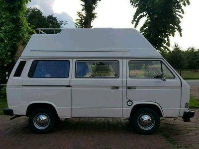 gebraucht VW T3 Camper Bulli mit Hochdach TÜV neu H ...