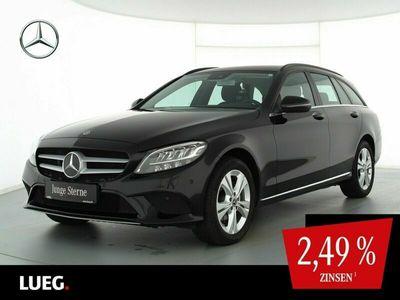 gebraucht Mercedes C220 d T 4M Navi+LED-HP+Distr+SpurP+ParkAss+RFK