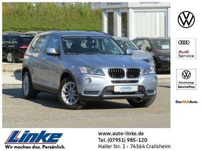 gebraucht BMW X3 xDrive 20d 1. Hand GRA/PDC vo.+hi./Climatronic AL