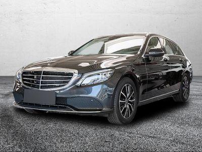 gebraucht Mercedes C220 d T Exclusive Spur+Totw. Airmatic Multib.
