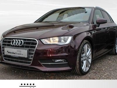 gebraucht Audi A3 Sportback 2.0 TDI S line NAVI AHK EINPARKHILFE