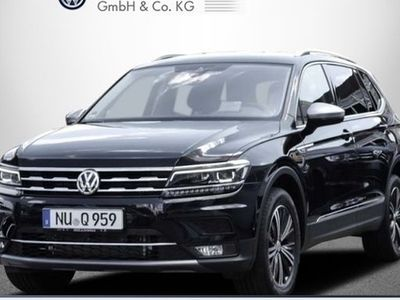 gebraucht VW Tiguan Allspace Highline 2.0 TDI DSG 4M LED HEAD R-KAM