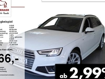 gebraucht Audi A4 Avant SPORT 40TFSI 190PS S-TRONIC ACC.LED.NAV L