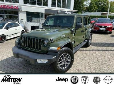 gebraucht Jeep Wrangler Unlimited Sahara Sarge Green PHEV ACC