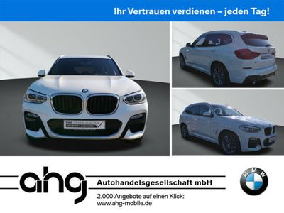 gebraucht BMW X3 xDrive20d M SPORT AT Navi Business Klimaaut. Alarm Driving Assistant