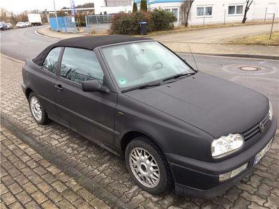 gebraucht VW Golf Cabriolet 3 BJ 1997 mit Folierung