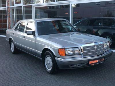 gebraucht Mercedes 420 W126*81TKM*rostfrei* Velour Blau*top