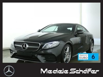 used Mercedes E300 Coupé AMG 9G MultiLED Pano Kamera Totw