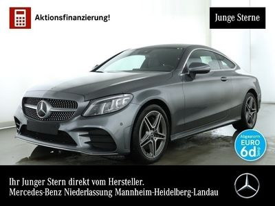 gebraucht Mercedes C300 d Cp. 4M AMG Stdhzg Multibeam Distr. PTS