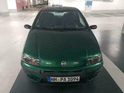 gebraucht Fiat Punto 1.2l SX Euro4 4Grün