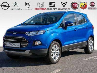 gebraucht Ford Ecosport 1.5 TITANIUM+KLIMAAUTO+BEH.WSS+SHZ+PDC+KOMFORT-PAC+