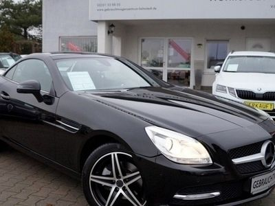 gebraucht Mercedes SLK200 BlueEFFICIENCY 7G-TRONIC LEDER NAVI LED