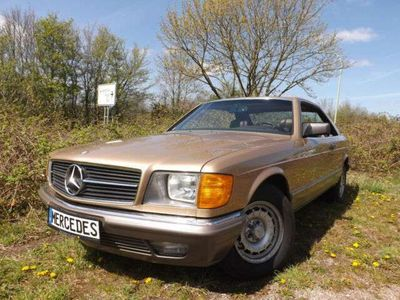 """gebraucht Mercedes 380 SEC """"DER BESTE ODER GARNICHTS"""""""
