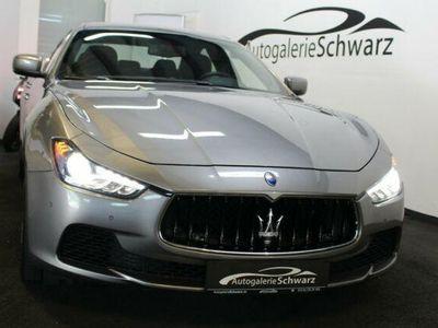 """gebraucht Maserati Ghibli 3.0 V6 Aut. LED NAV DAB BT R-KAM 20""""URANO"""