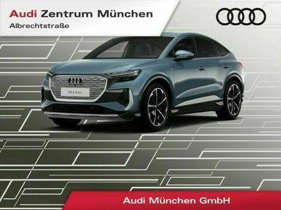 "gebraucht Audi Q4 Sportback 50 e-tron qu. S line edition one 21"" SONOS Pano HUD Virtual+ Matrix Leder R-Kamera"