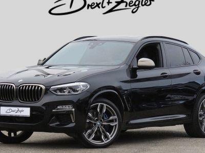 gebraucht BMW X4 M 40 d AHK HUD Navi GSD H&K StdHzg Alu21 4xSHZ
