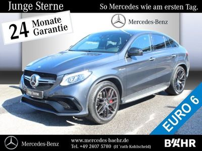 gebraucht Mercedes GLE63 AMG -AMGS 4MATIC Coupé COMAND APS