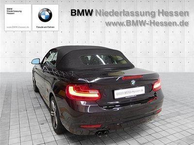 gebraucht BMW 220 d Cabrio Sport Line Navi Fernlichtassistent