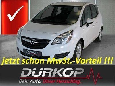 gebraucht Opel Meriva B Edition 1.4 Klimaautautomatik PDV vo+hi