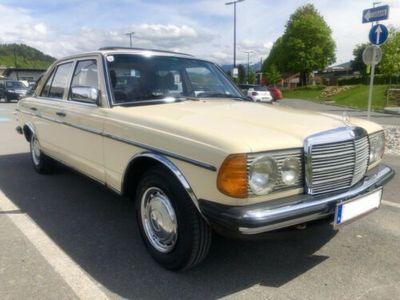 gebraucht Mercedes 240 Diesel W123