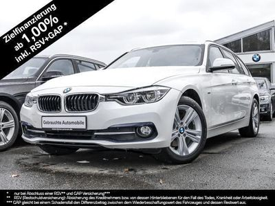 gebraucht BMW 320 d xDrive Touring Sport Line Aut. Panorama PDC