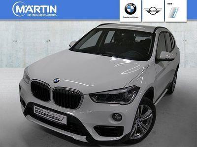 gebraucht BMW X1 sDrive18d Sport Line LED Navi Tempomat AHK