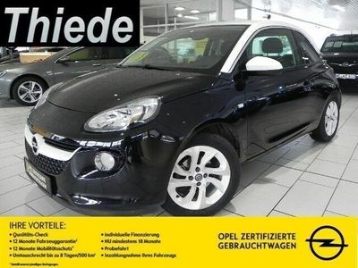 """gebraucht Opel Adam 1.2 JAM SHZ/KLIMA/16""""ALU/LENKRADHEIZUNG"""