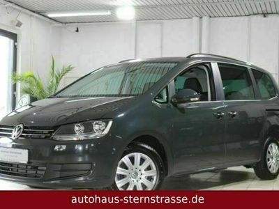 gebraucht VW Sharan *Trendline*BMT*Navi*AHK*PDC vo.&hi.*Bluetooth*