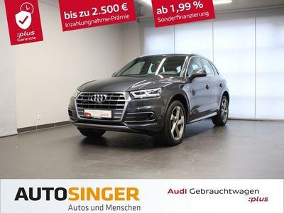 gebraucht Audi Q5 sport 40 TDI qua S tronic S line *AHK*STDHZ*LED*Virtual*