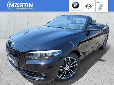 gebraucht BMW 218 i Cabrio *Sport Line*LED*Navi Bus.*Komfortzg.*