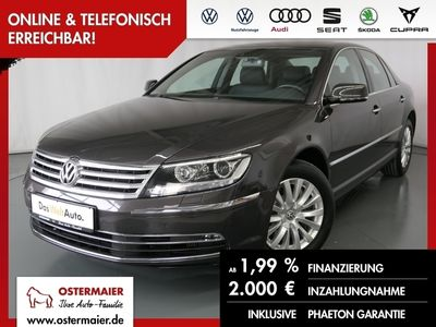 gebraucht VW Phaeton 3.0TDI 245PS DSG 4M 5SITZE S-DACH.LUFT.L