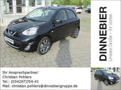 gebraucht Nissan Micra 1,2 TEKNA 5T Navi Gebrauchtwagen, bei Autohaus Dinnebier GmbH