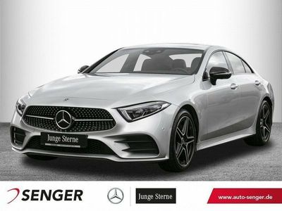 gebraucht Mercedes CLS450 4M *AMG*Night*Schiebedach*ABC*360°*AHK*
