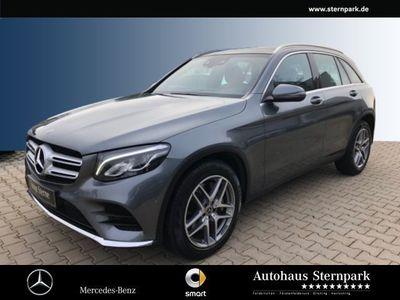 gebraucht Mercedes 220 GLC4M AMG +PANO+EASYPACK+DAB+NAVI+LED+uvm.