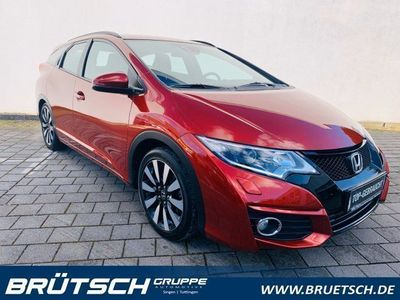 gebraucht Honda Civic 1.8 Tourer Elegance AUTOMATIK / NAVI