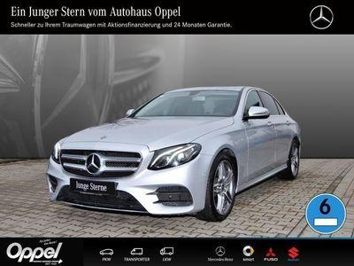 käytetty Mercedes E220 AMG Line Navi/Parktronic/Klima/Sitzheiz. LED